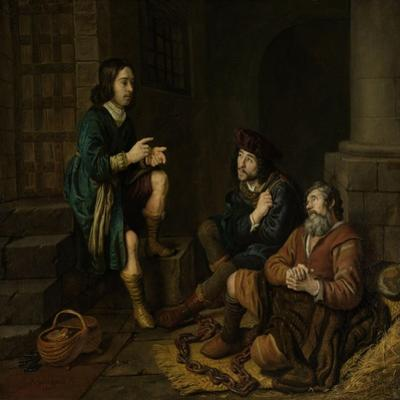 Joseph Interprets the Dreams of the Baker and the Butler