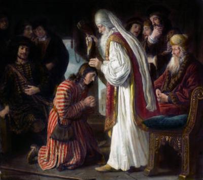 Samuel Annointing David