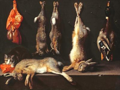 Still Life, Game by Jan Weenix