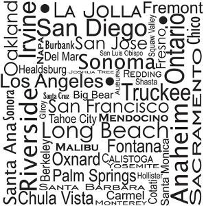 California Cities by Jan Weiss