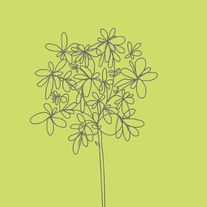 Citron Happy Flower by Jan Weiss