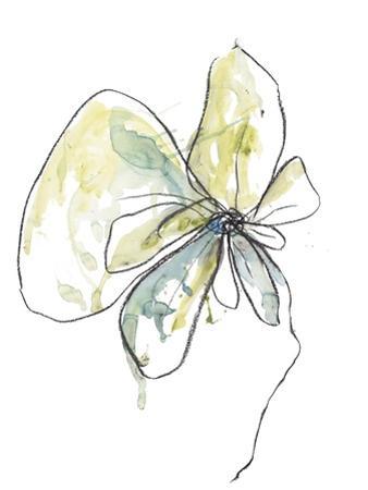 Citron Modern Botanical by Jan Weiss