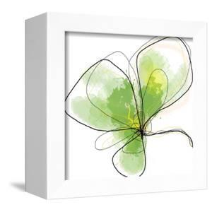 Citron Petals Three by Jan Weiss