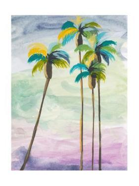 Four Palms No. 2 by Jan Weiss