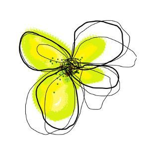 Yellow Petals 4 by Jan Weiss