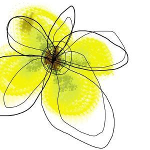 Yellow Petals Four by Jan Weiss