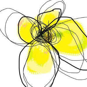 Yellow Petals Three by Jan Weiss