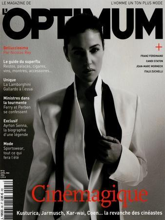 L'Optimum, April-May 2004 - Monica Bellucci