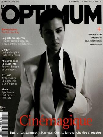 L'Optimum, April-May 2004 - Monica Bellucci by Jan Welters