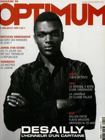 L'Optimum, June-July 2002 - Marcel Desailly