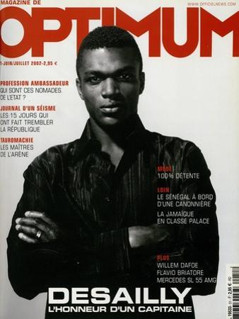 L'Optimum, June-July 2002 - Marcel Desailly by Jan Welters