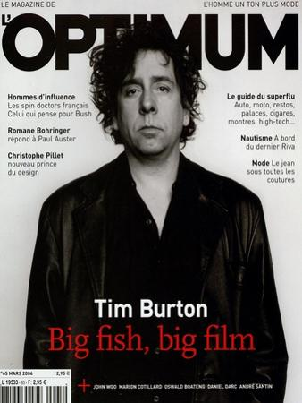 L'Optimum, March 2004 - Tim Burton by Jan Welters