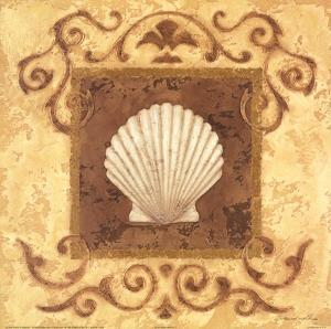 Stylized Shell I by Jane Carroll