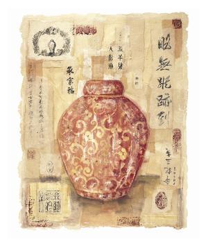 Cinnabar Jar by Jane Claire