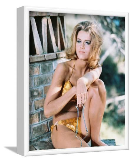 Jane Fonda--Framed Photo