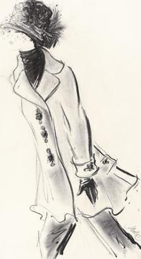 Black Brocade by Jane Hartley