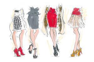Catwalk Legs by Jane Hartley