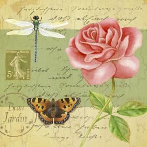Beautiful Garden I by Jane Maday
