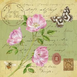 Beautiful Garden III by Jane Maday