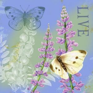 Butterflies Inspire I by Jane Maday