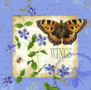 Butterfly Meadow II by Jane Maday