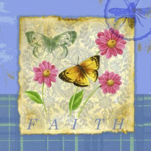 Papillon Plaid II by Jane Maday