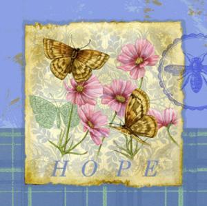 Papillon Plaid III by Jane Maday
