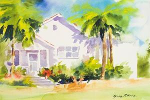 Beach Cottage I by Jane Slivka