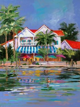 Beach Resort I by Jane Slivka