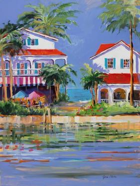 Beach Resort II by Jane Slivka