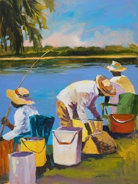 Fishing I by Jane Slivka