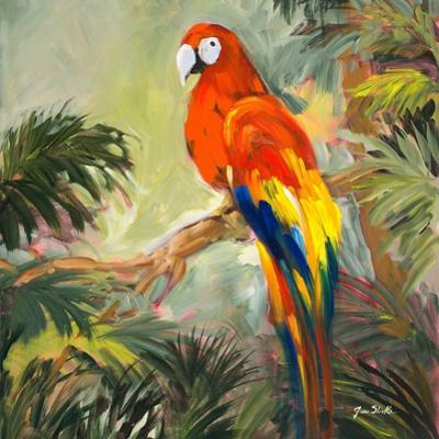 Parrots at Bay I