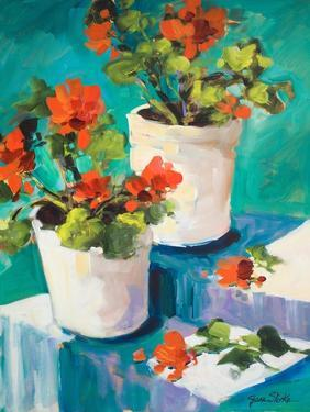 Potted Poppies by Jane Slivka