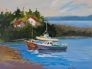 Sail Boats by Jane Slivka
