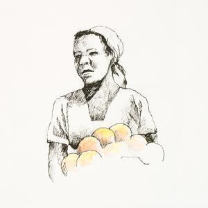 Sketched Woman II by Jane Slivka