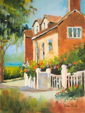 Summertime Cottage by Jane Slivka