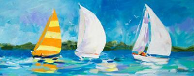 The Regatta II by Jane Slivka