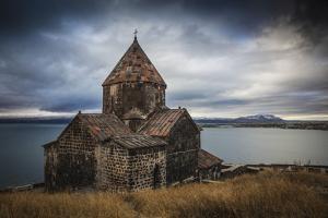 Armenia, Lake Seven, Sevanavank Monastery by Jane Sweeney