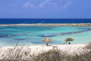 Baby Beach, San Nicolas, Aruba, Lesser Antilles, Netherlands Antilles, Caribbean, Central America by Jane Sweeney