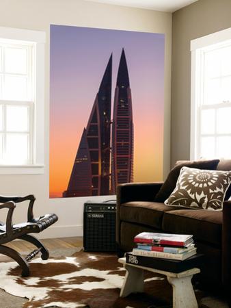 Bahrain, Manama, Bahrain World Trade Center by Jane Sweeney