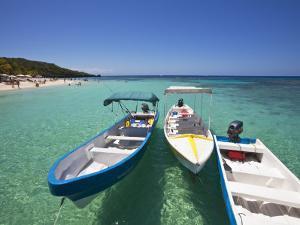 Bay Islands, Roatan, West Bay, Boats, Honduras by Jane Sweeney