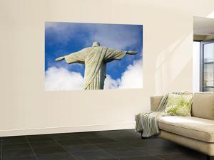 Brazil, Rio De Janeiro, Cosme Velho, Christ the Redeemer Statue at Atop Cocovado by Jane Sweeney