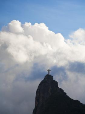Brazil, Rio De Janeiro, Statue of Christ by Jane Sweeney