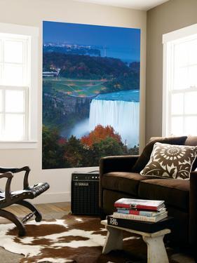 Canada and USA, Ontario and New York State, Niagara, Niagara Falls, View of Horseshoe Falls by Jane Sweeney