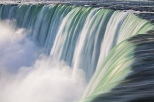 Canada, Ontario, Niagara, Niagara Falls, View of Table Rock Visitor Center and Horseshoe Falls by Jane Sweeney