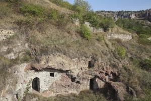Cave Village, Old Goris, Goris, Armenia, Central Asia, Asia by Jane Sweeney