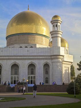 Central Mosque, Almaty, Kazakhstan, Central Asia, Asia by Jane Sweeney