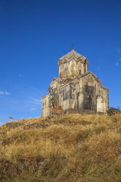 Church of Surb Astvatsatsin (Vahramashen Church) at Amberd Fortress Located by Jane Sweeney