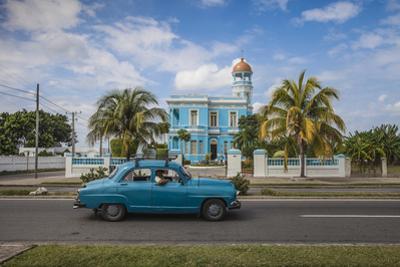 Cuba, Cienfuegos, Palacio Azul, Built 1920 - 1921, Now a Hotel by Jane Sweeney