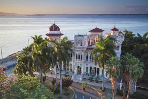 Cuba, Cienfuegos, Punta Gorda, Palacio De Valle - Now a Restaurant , Museum and Bar by Jane Sweeney